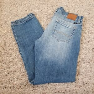 Lucky Sienna Tomboy Crop Jeans Size 25